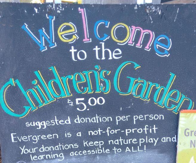 Evergreen Brick Works Children's Garden