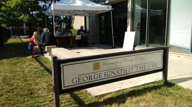 Toronto Fringe George Ignatieff Theatre